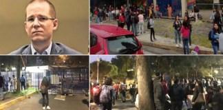 Universitarios toman la FCPyS en contra del diplomado de Ricardo Anaya