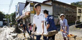 Registran 33 fallecimientos tras paso de tifón en Japón