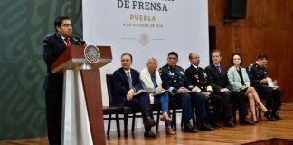 Barbosa: los indices delictivos en Puebla van a la baja