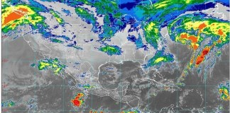 Lluvias en BC y regiones con cielo nublado