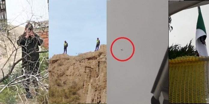 Bolivia vigila con drones a México
