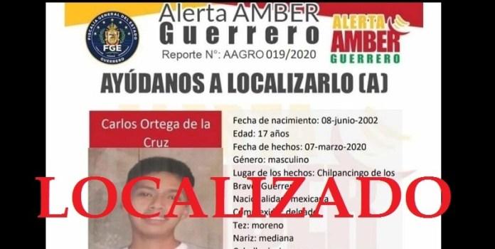 Localizado hijo de vocero de familiares de Ayotzinapa