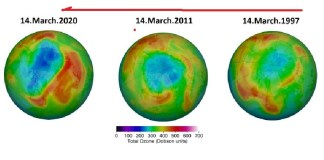 Polo Norte: se abre la capa de ozono