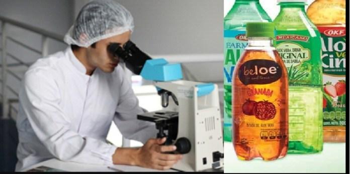 Profeco, estudios de bebidas de sábila