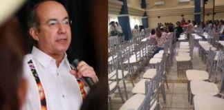 Calderón, dice, 'derrocará' al gobierno de AMLO con México Libre