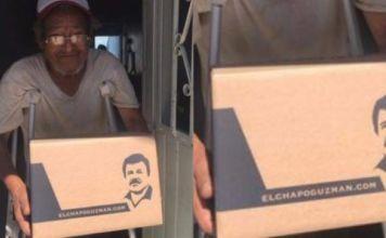 """Hija de """"El Chapo"""" Guzmán entrega despensas en Guadalajara"""