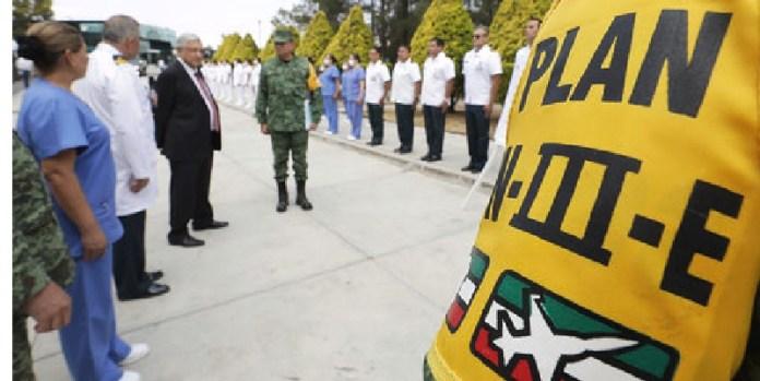 Ejército aplica Plan DN-III