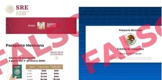 SRE alerta sitio falso en internet