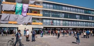 Por Covid, paristas entregan Facultad de Filosofía de la UNAM