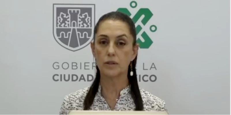 sheinbaum - Ciudad de México suspende parquímetros hasta el 30 de abril