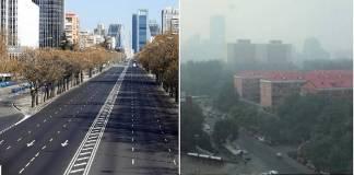 Reducción temporal de contaminantes
