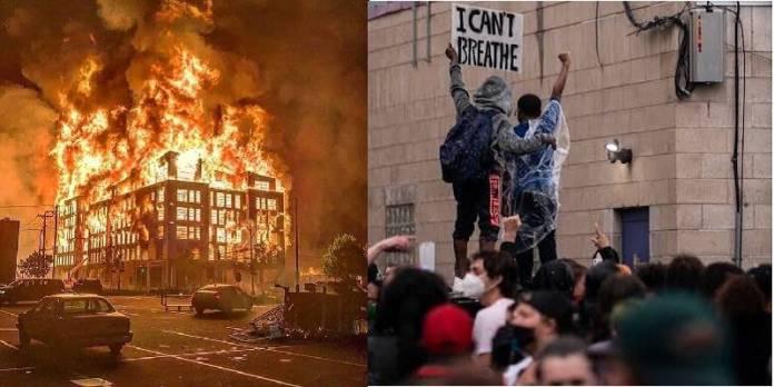 Arrecian protestas en Minneapolis