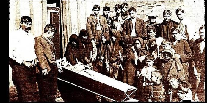 Masacre de Cananea, México, 1906