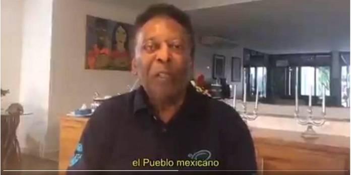 pele - Pelé manda video, agradece a México, son 50 años del mundial 1970