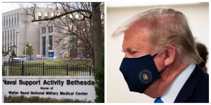 Trump Covid 19 scaled - No se ponen de acuerdo si Trump mejora o recibe oxígeno
