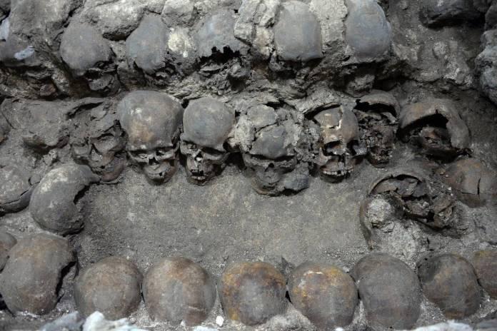 WhatsApp Image 2020 10 31 at 09.41.25 - Revelan fotos inéditas del Tzompantli ubicado en el Centro de la CDMX