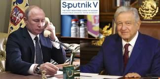 Concluye llamada de AMLO y Putin; Gatell asegurará Sputnik V pronto