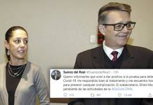 Da positivo a covid-19 por segunda vez el secretario de Gobierno de CDMX