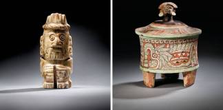 Subastarán en Francia 33 piezas de las culturas Azteca, Maya, Mixteca y Tolteca