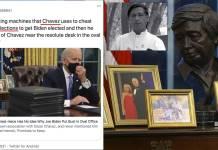 Por verdad a medias acusan a Biden de querer convertir a EU en Venezuela