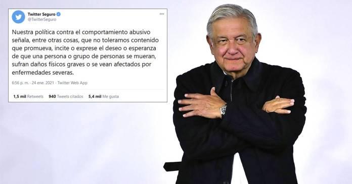 Tuits con deseos de muerte son abusivos y se sancionarán, advierte Twitter
