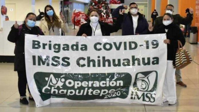 brigada covid19 chihuahua  - Brigada Covid-19 del IMSS Chihuahua se suma a Operación Chapultepec