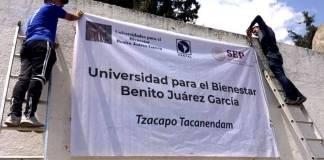 Ya están listos 85 planteles de Universidades del Bienestar