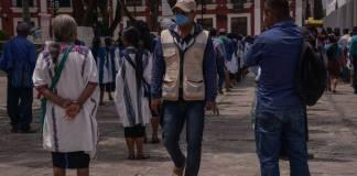 24 mil habitantes de pueblo en Chiapas se niegan a vacunarse contra la Covid