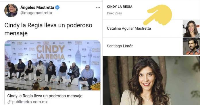 Descubren por qué a Ángeles Mastretta le gustó tanto 'Cindy la Regia'- la dirigió su hija