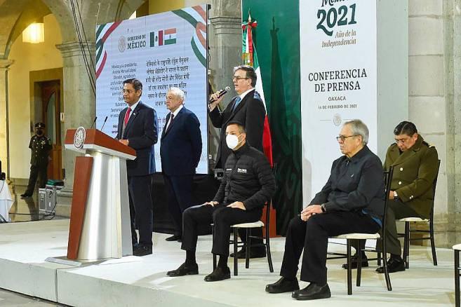México tendrá su vacuna y se llamará Patria: AMLO