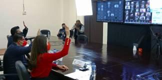 Presentan su renuncia 17 dirigentes priistas al presidente del PRI en CDMX