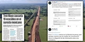Tren Maya ya contempla no repetir '19 Cancunes' responde a El Universal