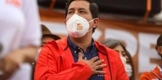 Arauz se dice ganador de la elección presidencial en Ecuador