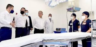Van 120 hospitales terminados, destaca López Obrador desde Querétaro