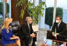 Presidente de Argentina llega a CDMX; asistirá al bicentenario del Plan de Iguala