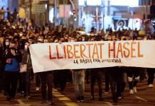 Sexto día de protestas en España por detención de rapero