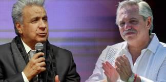 """Ecuador calificó lo dicho por Fernández como una """"intervención en los asuntos internos de otro Estado""""."""