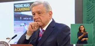 """Estoy """"macaneando"""" arriba de 300 en temporada postcovid: AMLO"""