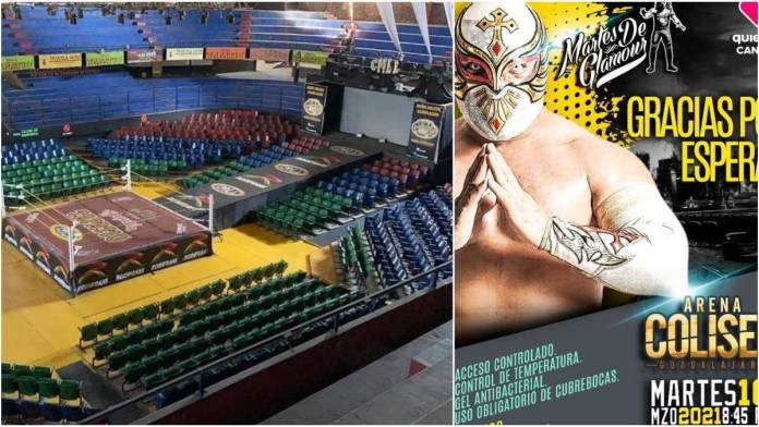 Arena Coliseo Gdl lucha libre - Arena Coliseo Guadalajara reabre sus puertas al público