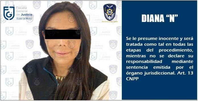 UIF congela cuentas de Diana Sánchez Barrios, por extorsión y robo agravado