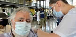 Encinas ya se vacunó contra Covid-19