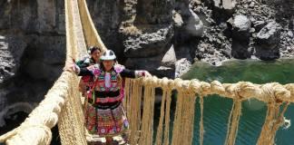 Cae puente inca de más de 600 años por falta de mantenimiento