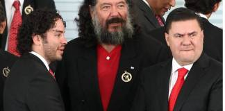 Jorge Hank Rhon se registra como candidato del PES a la gubernatura de Baja California