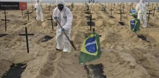 Brasil golpeado por la Covid, 90 mil contagios en 24 horas