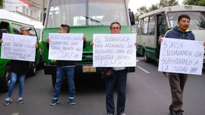 No habrá aumentos en el transporte de la CdMx, pese a manifestaciones: Semovi