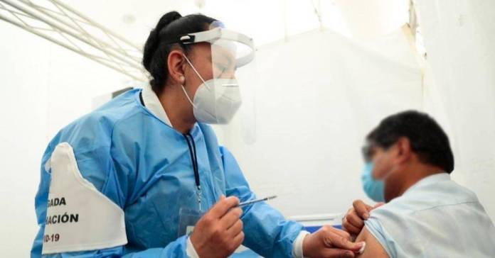 La vacunación en Hidalgo ya está en segunda fase.