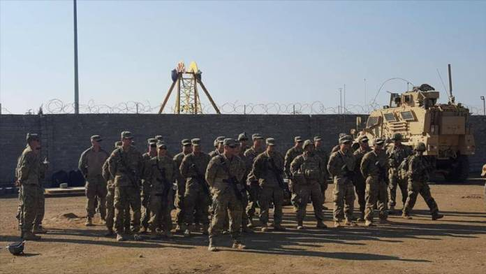 Bombardean base aérea de Estados Unidos en Irak