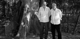 AMLO desayunó con Slim en Palenque; hablaron del Tren Maya