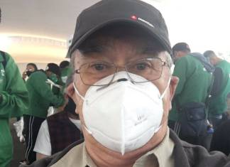 Pedro Sola recibe segunda dosis de la vacuna contra Covid-19