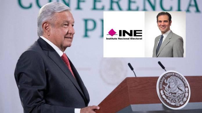 AMLO descarta desaparición del INE y reunión con Lorenzo Córdova